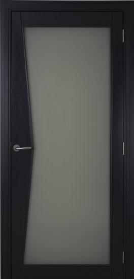 Porte <p>Abysse vitrée Stadip opalin,</p> <p>Laquée RAL 7016</p>